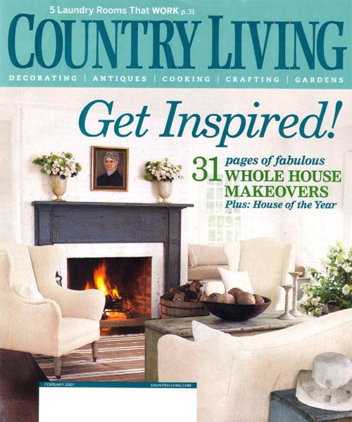 Country Living Magazine D L Rhein Interior Design