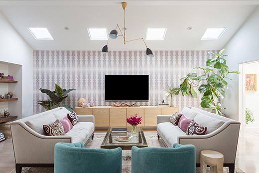 LIVING ROOM - ENCINO - DESIGN BY D.L. RHEIN | PHOTO BY AMY BARTLAM