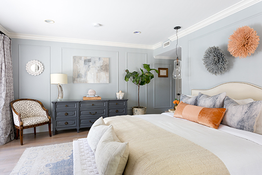 MASTER BEDROOM | ENCINO | DESIGN BY D.L. RHEIN, PHOTO BY AMY BARTLAM