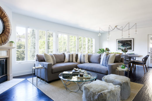 BRENTWOOD | LIVING ROOM | DESIGN BY D.L. RHEIN, PHOTO BY AMY BARTLAM
